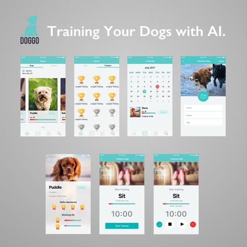 Doggo User Interface Design
