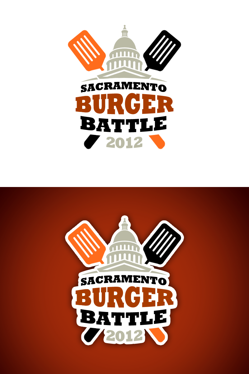 Help Sacramento Burger Battle with a new logo