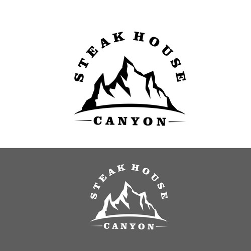Design logo Mountain Vintage..
