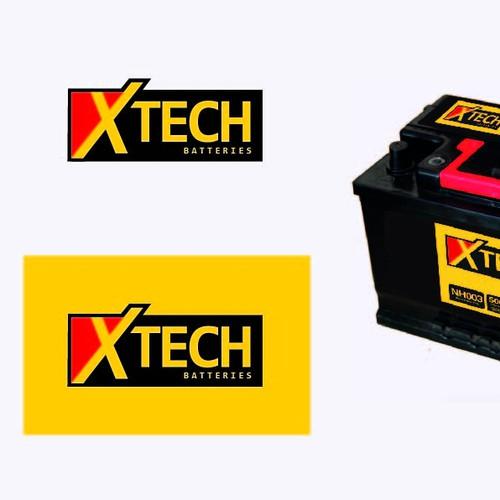 Diseño de logo, para baterias