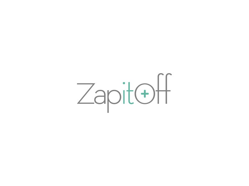 Logo for ZAP IT OFF << Hair & Tattoo Removal!