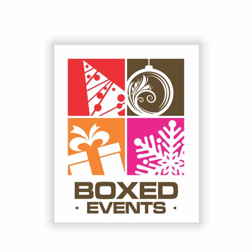 Create the next logo for Boxed Events