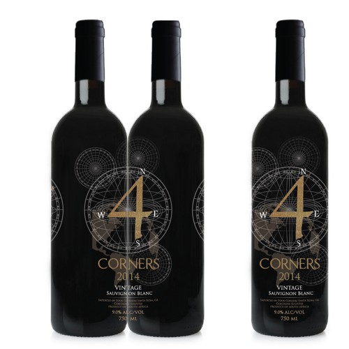Wine Label Design for Global New Generation Brand
