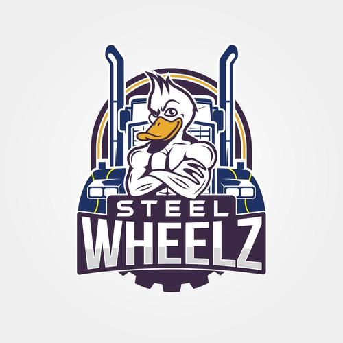 Steel Wheelz Truck Company Logo