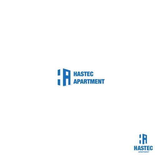 Logo design for Hastec Apartment