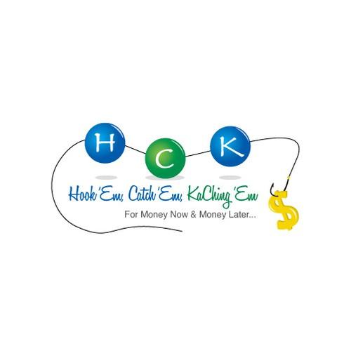 logo for Hook 'Em, Catch 'Em, KaChing 'Em