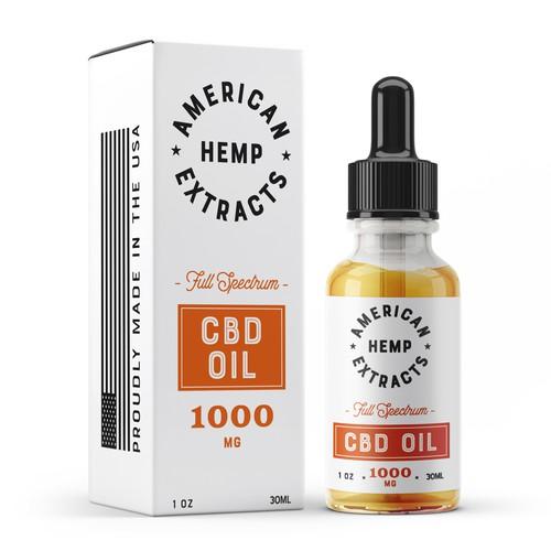 CBD OIL Branding design