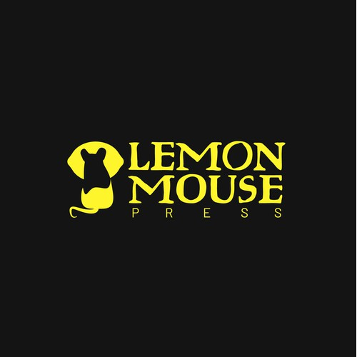 [ Available For Purchase ] -- declined logo proposal for Lemon Mouse Press