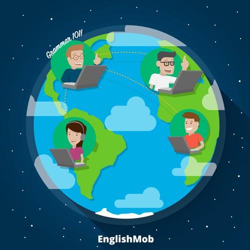 Illustration for EnglishMob