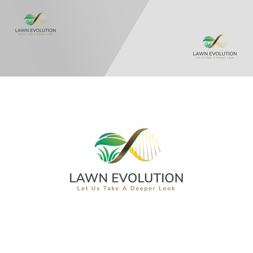 logo to speak to inteligent customers for Lawn Evolution