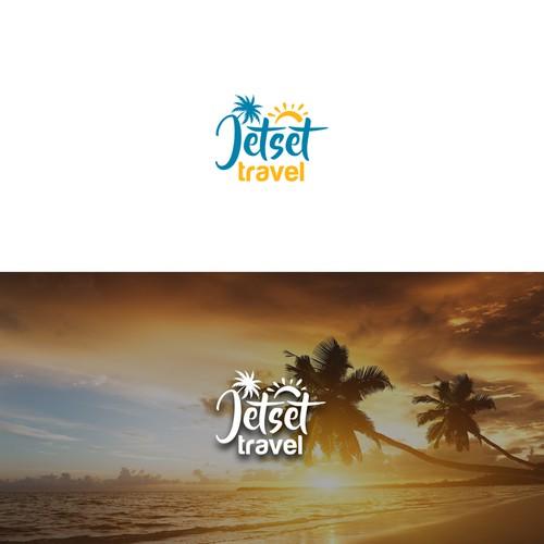 Logo for travel agency