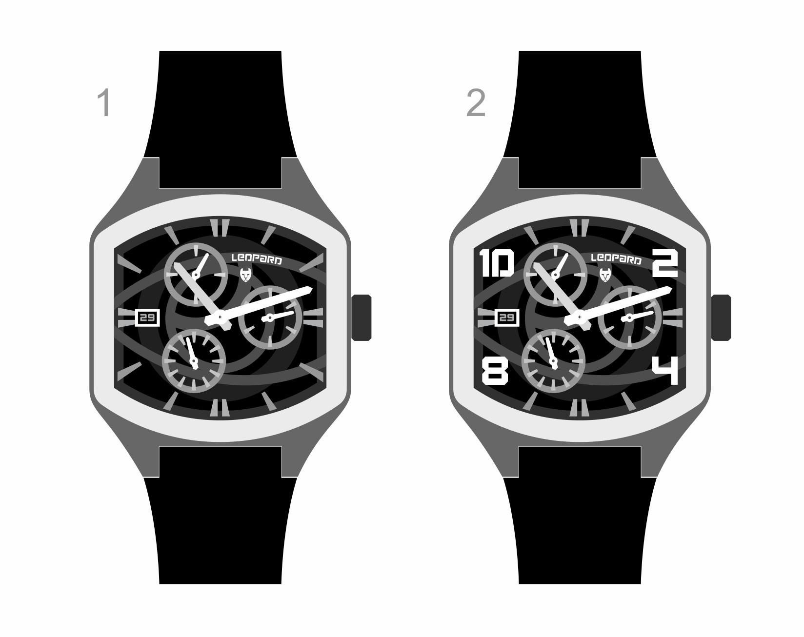Design a Unique Fashion Sporty watch