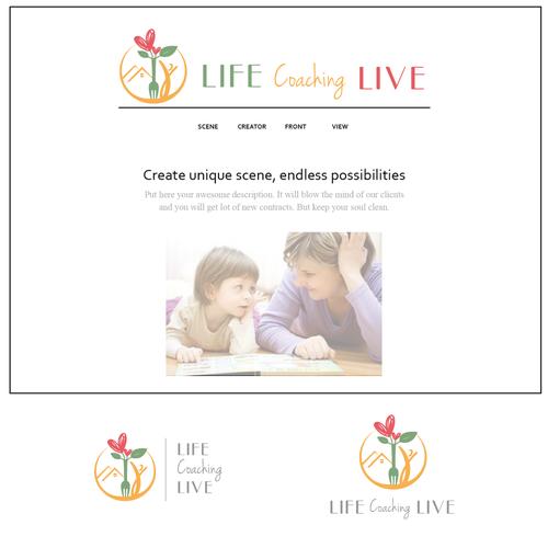 Logo for life coaching blog