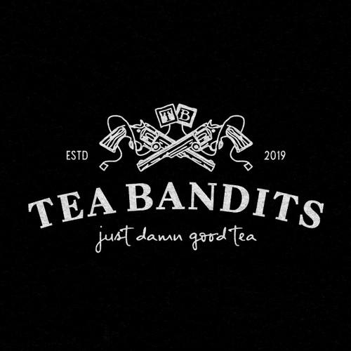 Vintage tea company logo