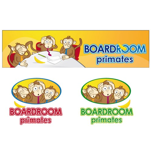 Logo & Banner for new site: Boardroom Primates