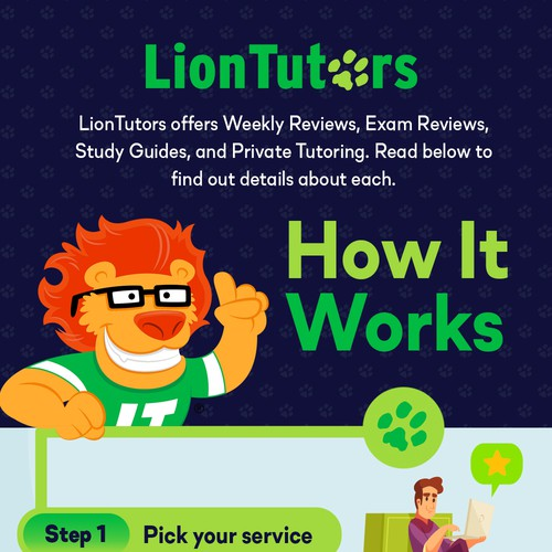 Tutorial Services Infographic