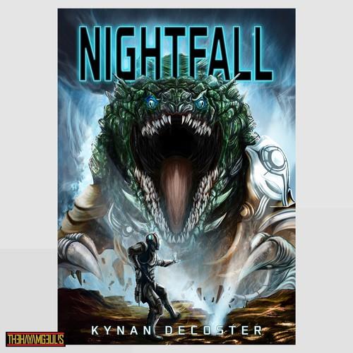 Fantasy artwork for book cover