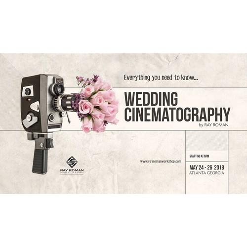 Poster for Wedding Cinematography Workshop