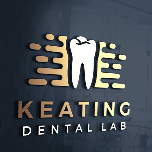 Logo concept for Keating Dental Lab