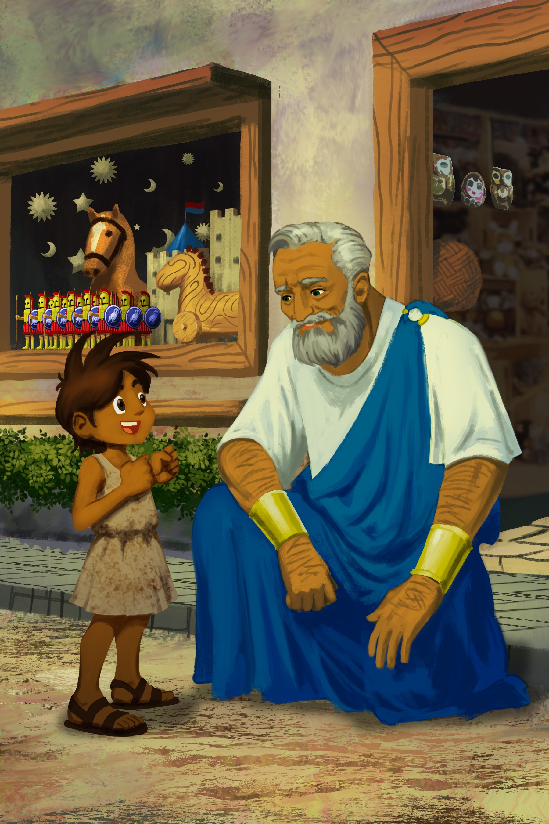 Greek boy tales
