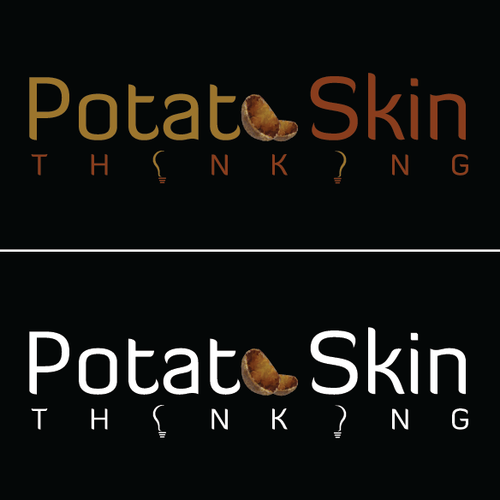 Create a company logo for Potato Skin Thinking