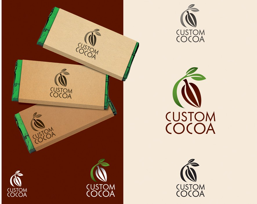 Custom Cocoa - Exciting new Chocolate startup seeks quality logo!