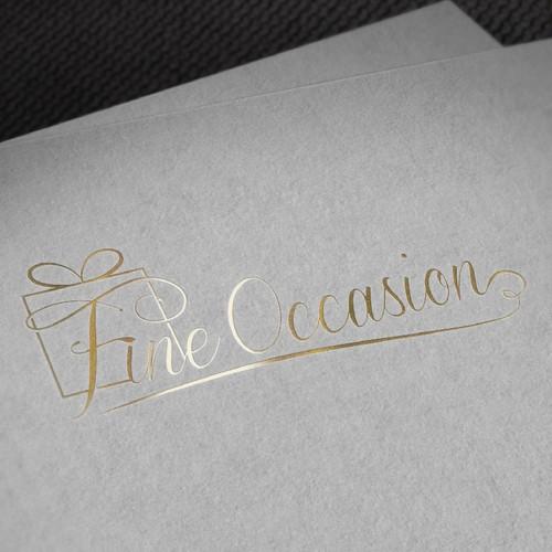 Luxuruy gift logo
