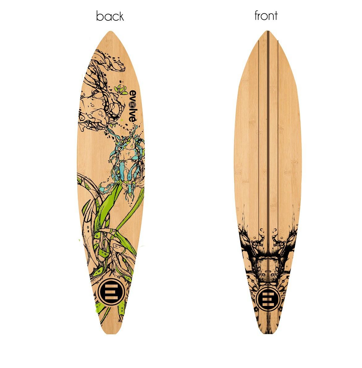 需要令人敬畏的滑板甲板设计!