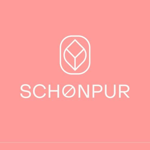 Schonpur cosmetic logo design