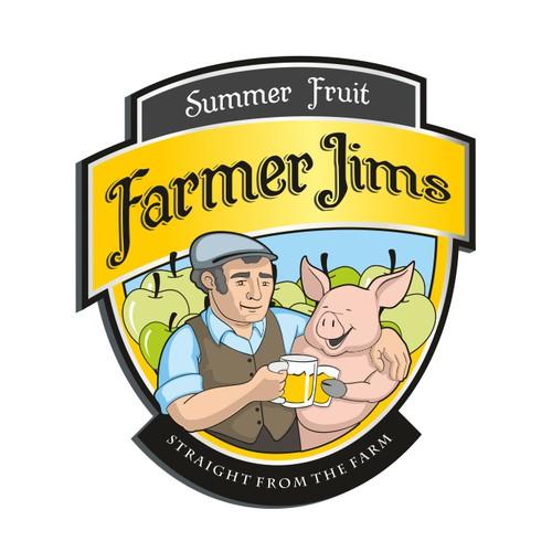 Create the next logo for Farmer Jims