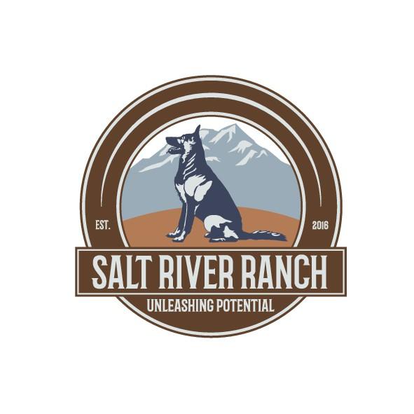 Dog training logo for Salt River Ranch