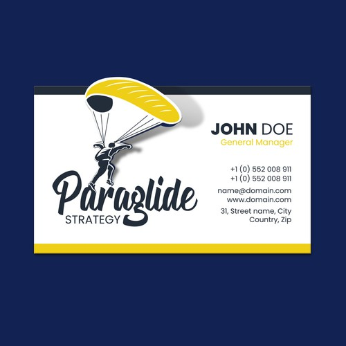 Logo & Business card for Paraglide