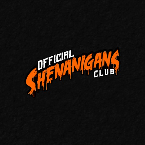 New Dope Clothing Brand I'm Calling It Official Shenanigans Club Logo : )