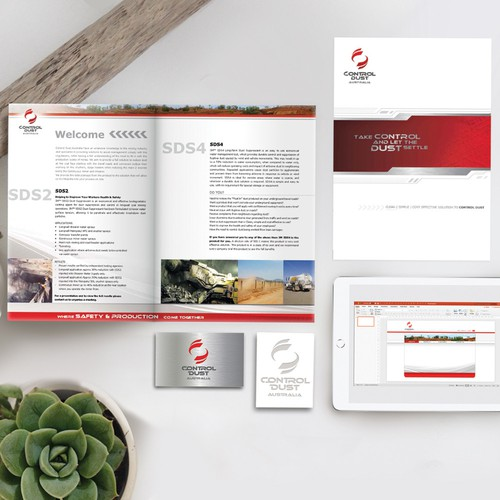 Branding Identity Package for Industrial company