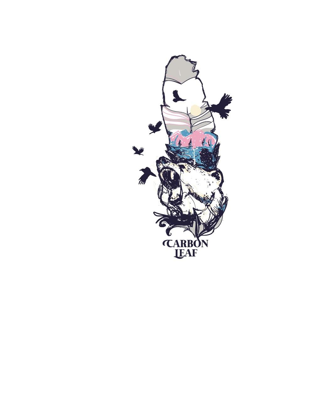 Bear&Crow Graphic Design Using Existing Artwork