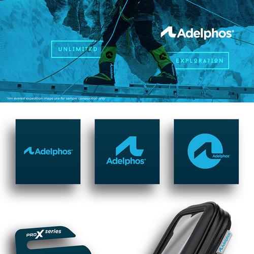 Finalist at Adelphos logo contest