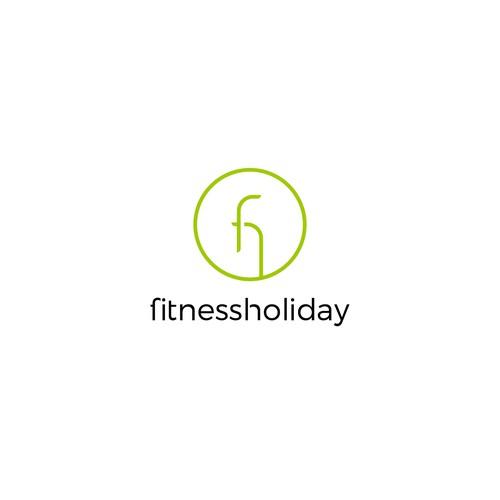 Luxury logo for fitnessholiday