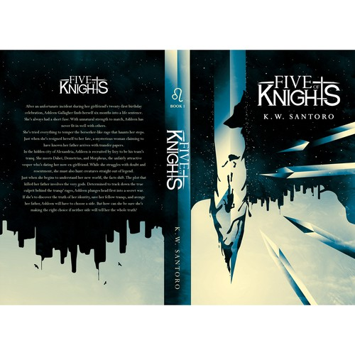 FIVE OF KNIGHTS BOOK COVER