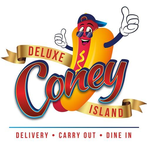Deluxe Coney Island Logo
