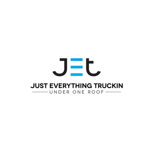 Logo for a trucking services company