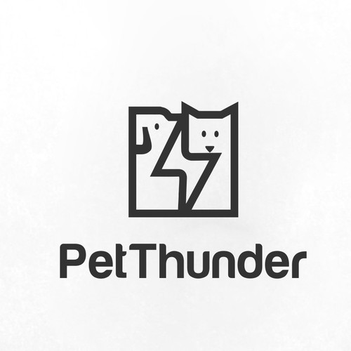 Pet thunder logo