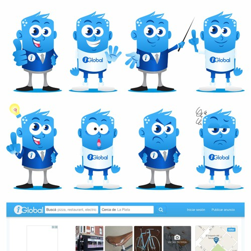 Get iGlobal.co to life with a mascot!