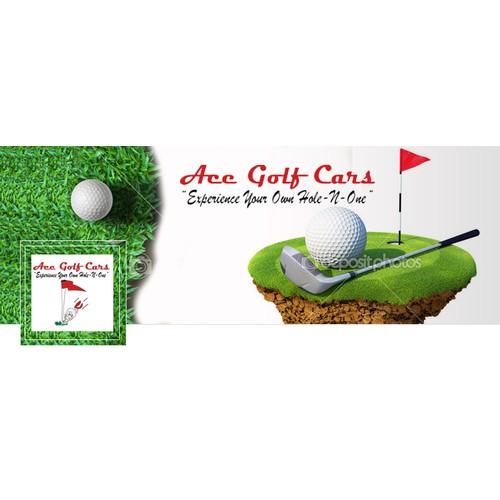 Create a Facebook Cover for Custom Golf Car Company