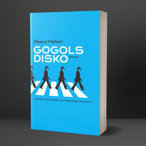 "Book Cover for Novel ""Gogol's Disco""ill"