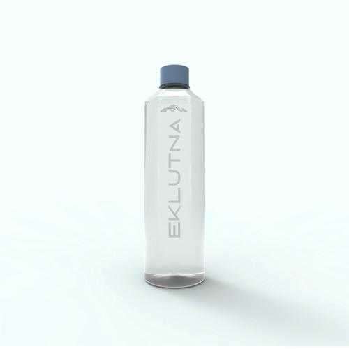 Design of a plastic bottle for Eklutna