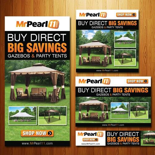 Banner ads concept for MrPearl11.com