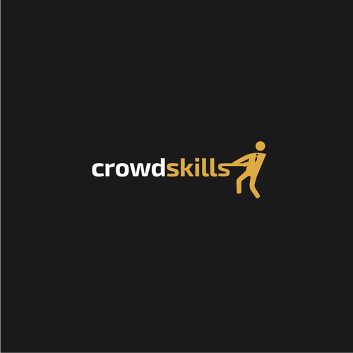 Logo for crowdskills company