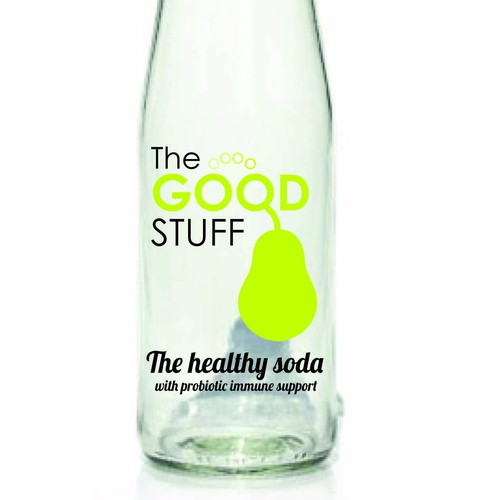 drinks label for a health drink