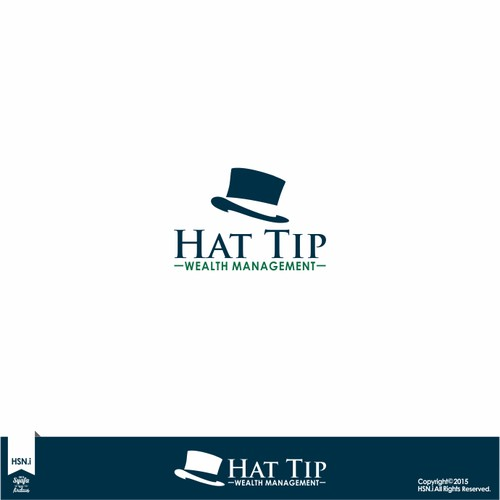 Create an alluring, trustworthy logo for Hat Tip Wealth Management