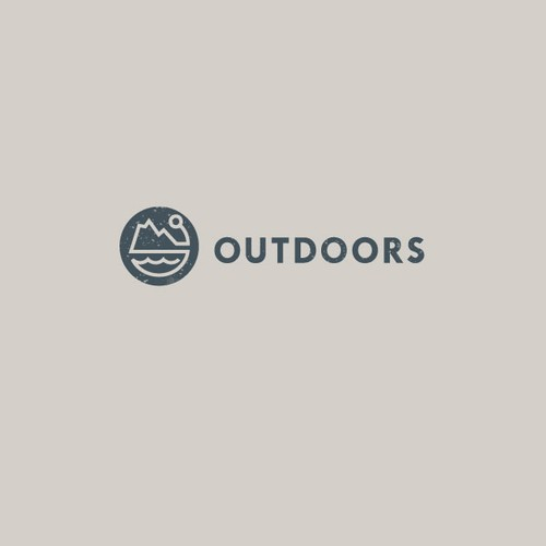 Create the next logo for Outdoors
